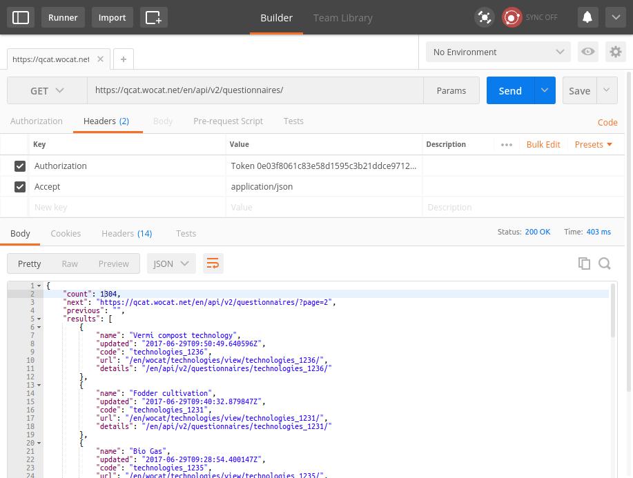 QCAT API v2 — QCAT 0 1 0 documentation